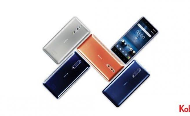 Nokia 8 Türkiye'de