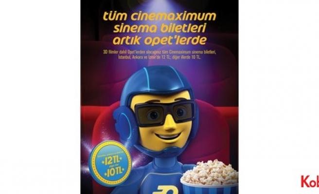 """OPET ve Cinemaximum'dan """"Sinema Devrimi"""""""