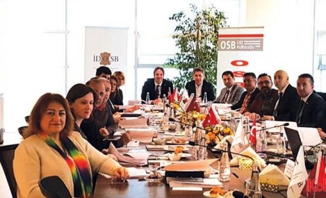 """OSBÜK'te """"Ruhsat, İzin ve İmar Komisyonu"""" toplantısı yapıldı"""