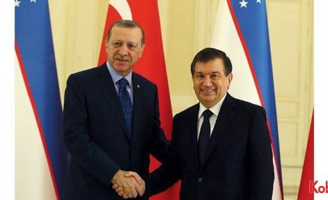 Özbekistan Cumhurbaşkanı Şavkat Mirziyoyev, Erdoğan'ın davetlisi olarak Türkiye'ye geliyor