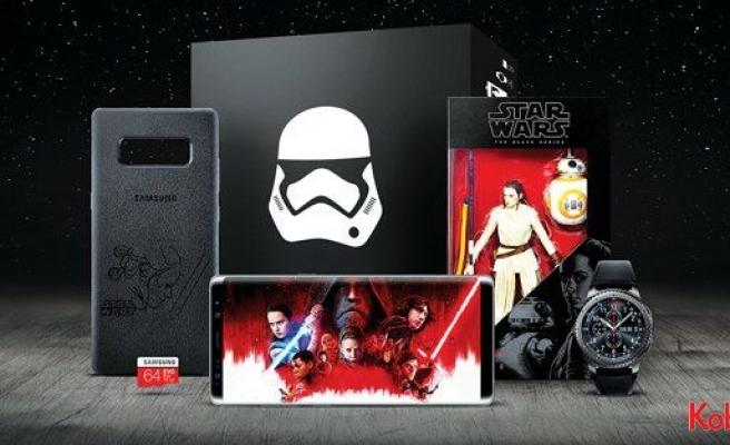 """Samsung """"Star Wars: Son Jedi""""ın vizyona girişini özel bir koleksiyon ile kutluyor"""