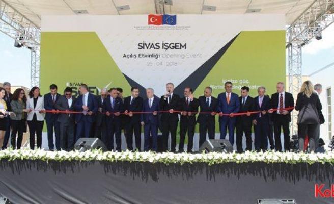 Sivas İş Geliştirme Merkezi açıldı