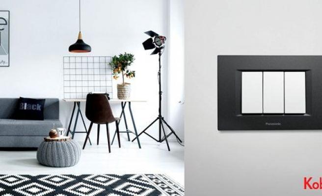 Siyah-beyaz dekorasyon trendine Thea Optima imzası