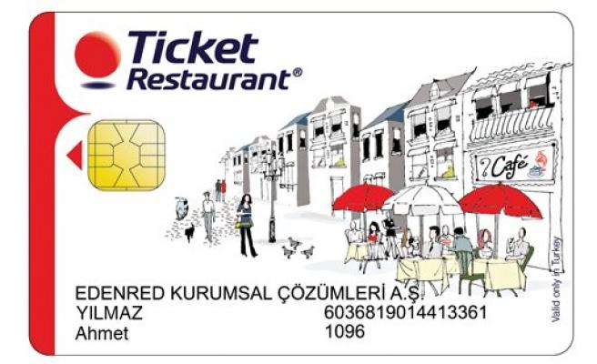 Ticket Restaurant'a geçen firmalar kazanıyor