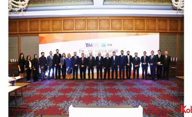 TİM-TEB Girişim Evi 2016 yılında 10 milyon TL ihracata imza attı