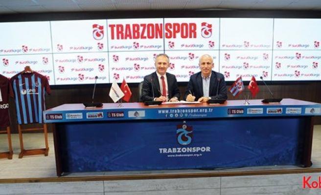 Trabzonspor ve Sürat Kargo, sponsorluk için anlaştı