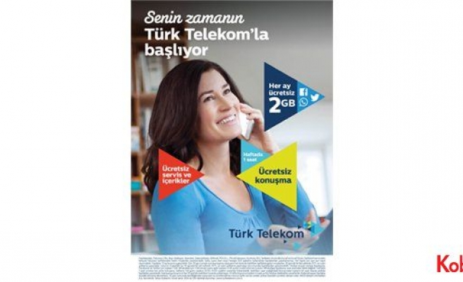 Türk Telekom'dan kadınlara kampanya