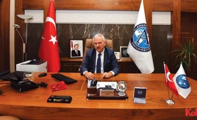 """UAÜ Rektörü Prof.Dr. İsmail Yüksek: """"Bölgesel çekim merkezi olacağız"""""""