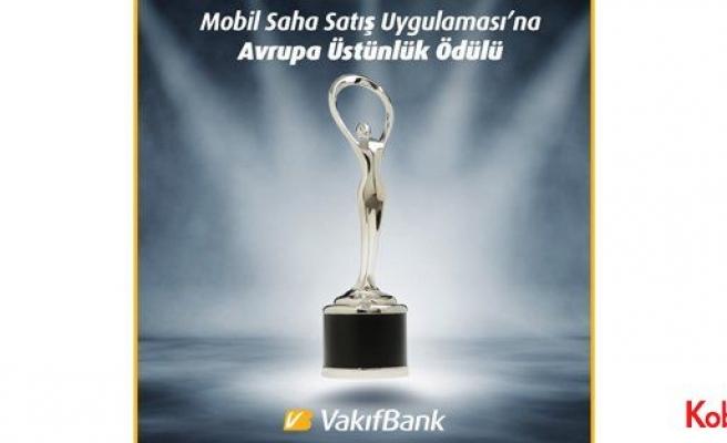 VakıfBank 'Mobil Saha Satış Uygulaması'na ödül