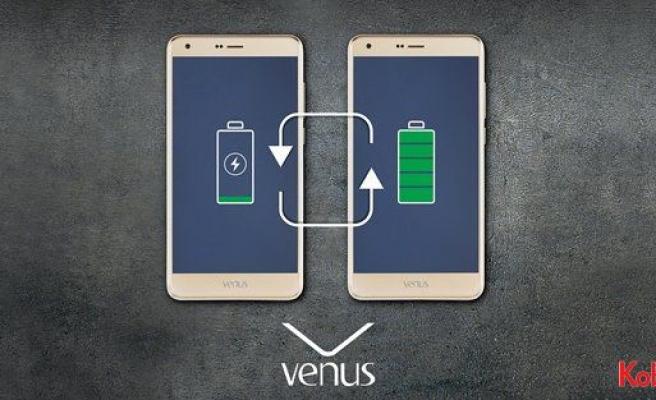 Vestel'den enerjisini paylaşan telefon: Venus V4