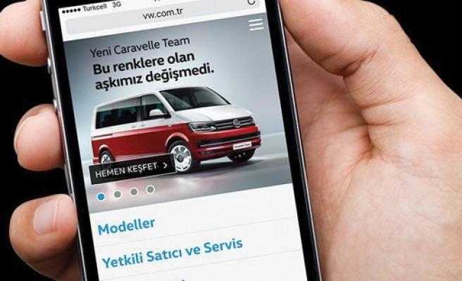 Volkswagen Ticari Araç'tan yeni mobil site