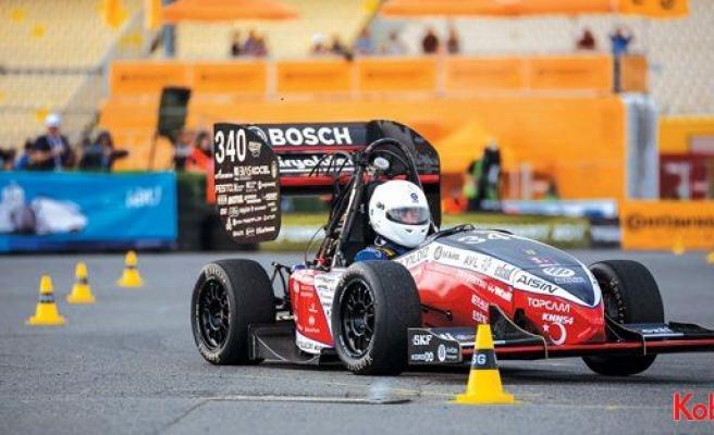 Yıldız Teknik öğrencileri Formula Student'ta vites artırdı