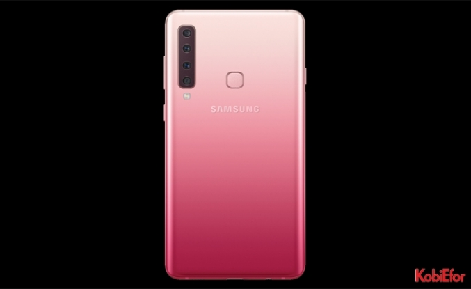 Dünyada ilk kez dört arka kamerayla Samsung Galaxy A9