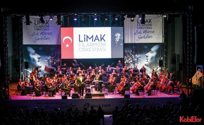 """Limak Filarmoni Orkestrası """"Murat Karahan'la Zeki Müren Şarkıları"""" Albümü çıkardı"""