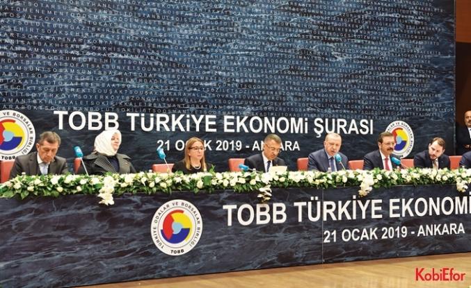 Cumhurbaşkanı Erdoğan iş dünyasına seslendi