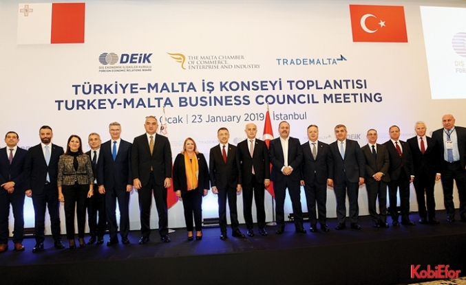 Türkiye ve Malta ticarette güçlerini birleştirecek