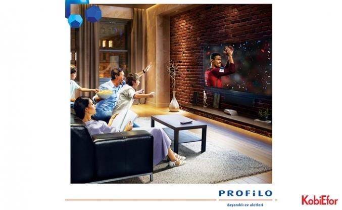 Babalar Günü'nün keyfi Profilo 4K Ultra HD LED Smart TV ile çıkar