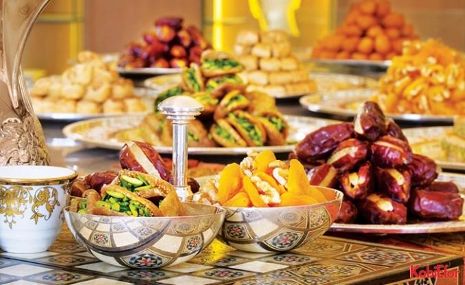 Boğaz'a karşı keyifli iftar sofraları