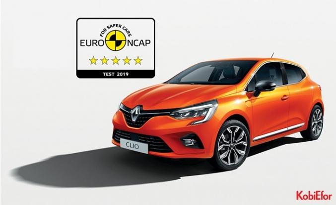 Yeni Renault Clio Euro NCAP Güvenlik Testi'nden beş yıldız elde etti