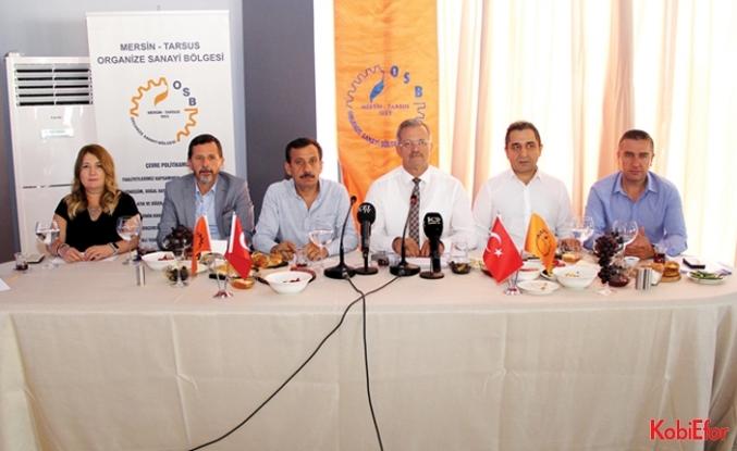 """Sabri Tekli: """"MTOSB Mersin'in gelişimine büyük katkı sağlıyor"""""""