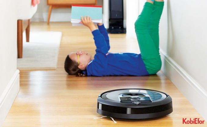 Temizlik alışkanlığını değiştirecek ödüllü tasarım; iRobot Roomba® i7+