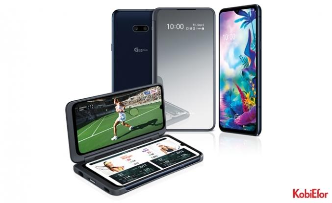 LG G8X ThinQ ve yeni LG çift ekranlı telefonlamobil kullanım keyfi