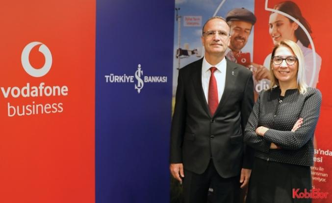 Vodafone ve Türkiye İş Bankası tarımda dijitalleşme içingüçlerini birleştirdi