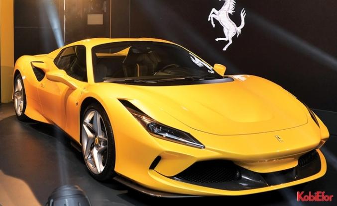 Ferrari F8 Spider 2020'de Türkiye'de