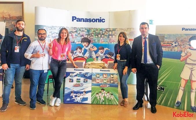 Panasonic'ten COMİKON'da Tsubasa fırtınası