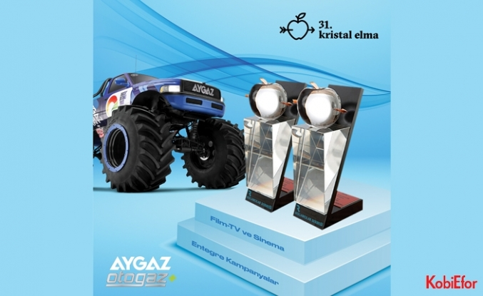 Aygaz'a Kristal Elma'dan iki ödül