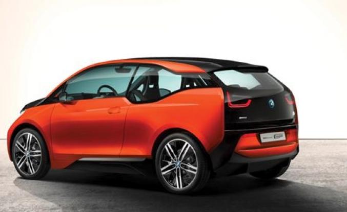 BMW i3 yollara çıkacak