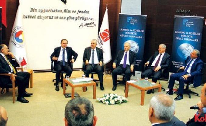 Leasing sektörü Adanalı KOBİ'lerle buluştu