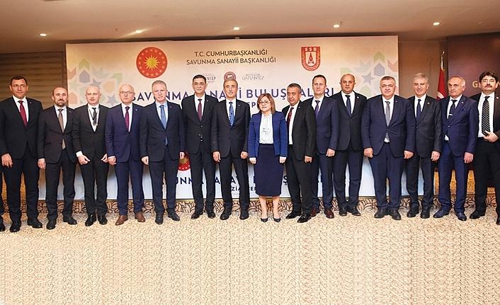 Savunma Sanayii Buluşması Gaziantep Toplantısı,GSO'da yapıldı